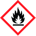 GHS sign flammable